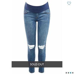 • Topshop Maternity Jamie Skinny Jeans •